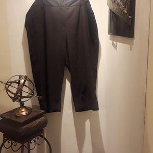 SANDRO WOMAN' BLACK CASUAL PANTS DRESS SZ18W
